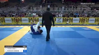 ELI VEGAS DIAZ vs LUCA MORAES XIMENES 2021 Pan Kids Jiu-Jitsu IBJJF Championship