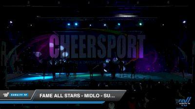 FAME All Stars - Midlo - Super Seniors [2019 Senior Medium 5 Day 2] 2019 CHEERSPORT Nationals