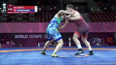 125 kg Daniel Ligeti, HUN vs Dilmukhammed Nurmukhamedov, UZB