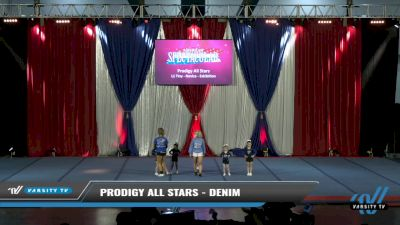 Prodigy All Stars - Denim [2021 L1 Tiny - Novice - Exhibition Day 2] 2021 The American Spectacular DI & DII