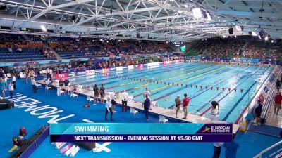 2018 European Swimming Championship Finals, Day 3