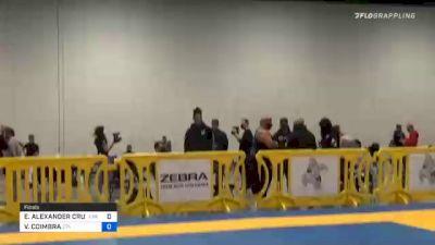 ELDER ALEXANDER CRUZ vs VINICIUS COIMBRA 2020 Atlanta International Open IBJJF Jiu-Jitsu Championship