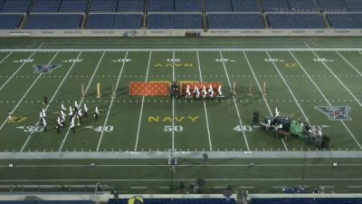 """Great Mills High School """"Great Mills MD"""" at 2021 USBands Naval Academy Invitational"""