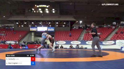 130 kg Round 3 - Cohlton Schultz, Sunkist Kids Wrestling Club vs Lee Herrington, Nebraska Golden Eagles Wrestling Club