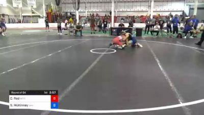 65 kg Prelims - Chad Red, Nebraska Wrestling Training Center vs Stefano McKinney, San Francisco Wrestling Club