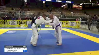 ROBERT DONALD NIELSEN vs JACOB JOSEPH LEVY 2021 Pan Jiu-Jitsu IBJJF Championship