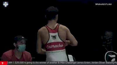 57 kg Semifinal - Jakob Camacho, Wolfpack RTC vs Seth Gross, Cliff Keen Wrestling Club