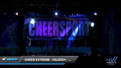 Cheer Extreme - Raleigh - Smoex [2020 Senior Medium Coed 6 Day 2] 2020 CHEERSPORT National Cheerleading Championship
