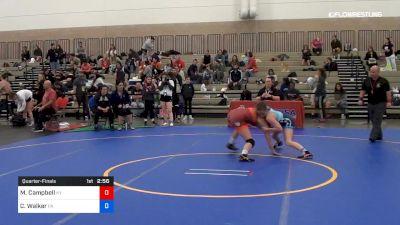 50 kg Quarterfinal - Mckayla Campbell, Team Kentucky vs Caitlyn Walker, Team Pennsylvania