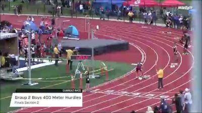 High School Boys' 400m Hurdles Group 2, Finals 2