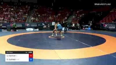 55 kg 3rd Place - Jacob Cochran, Florida vs Dalton Duffield, Army (WCAP)