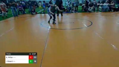 80 lbs Final - Austin Miller, The Mullet Army vs Isaiah Board, ATG