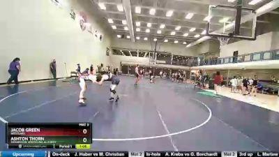 160 lbs 3rd Place Match - Jacob Green, Westlake vs Ashton Thorn, Sanderson Wrestling Academy