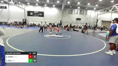 148 lbs Rr Rnd 2 - Sergio Sweet, Ground Up USA vs Spagnoli Alex, Long Island Gladiators