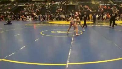 126 lbs Consolation - John Smith, Yuma Wrestling vs Grant Wells, Lincoln Lutheran