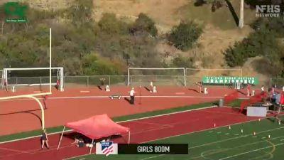 Girls' 800m, Finals 1