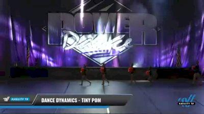 Dance Dynamics - Tiny Pom [2021 Tiny - Pom Day 2] 2021 ACP Power Dance Nationals & TX State Championship