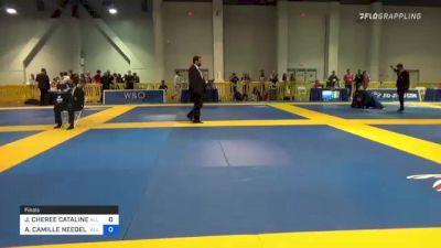 JACLYN CHEREE CATALINE vs ALEXANDRIA CAMILLE NEEDELS 2021 American National IBJJF Jiu-Jitsu Championship