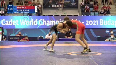 48 kg 1/8 Final - Pavel Borisovitch Bondar, Russia vs Saman Hassan Naseripour, Iran