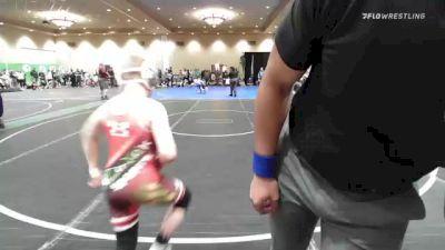 84 lbs Rr Rnd 1 - Daniel Jones, New York vs Kahle Larson, Brookville Wrestling Club