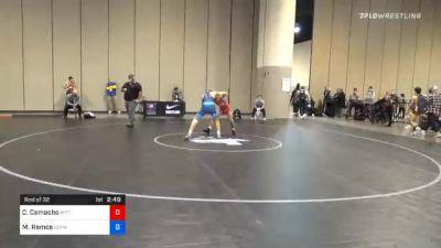 57 kg Prelims - Colton Camacho, Pittsburgh Wrestling Club vs Matthew Ramos, Gopher Wrestling Club - RTC