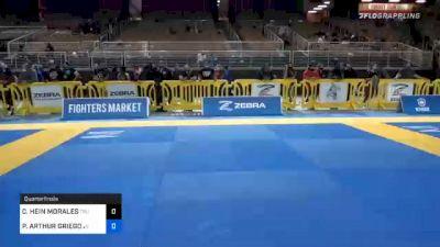 CHASE HEIN MORALES vs PHILLIP ARTHUR GRIEGO JR. 2020 World Master IBJJF Jiu-Jitsu Championship
