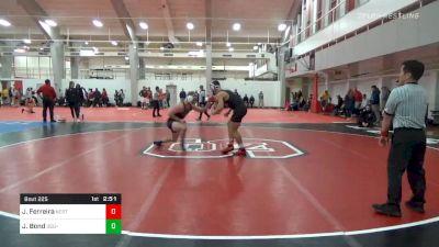 Prelims - Jacob Ferreira, NC State vs Jack Bond, ODU-Unattached