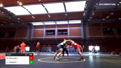285 lbs Final - Remy Brancato, NJ vs James Howard, TN