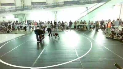 50 lbs Consolation - Kimo Sanchez, Powerline Wrestling vs Hayden Howard, Granite Hills WC