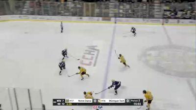 Replay: Notre Dame vs Michigan Tech | Oct 15 @ 6 PM
