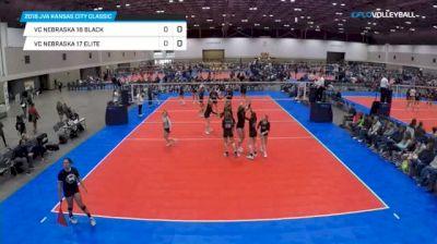 VC Nebraska 18 Black vs VC Nebraska 17 Elite - 2018 JVA Kansas City Classic, U18