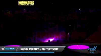 Motion Athletics - Blaze Intensity [2021 L3 Senior - D2 - Small Day 2] 2021 The American Celebration DI & DII