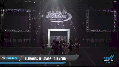 Diamonds All Stars - Glamour [2021 L2.2 Junior - PREP Day 1] 2021 The U.S. Finals: Sevierville