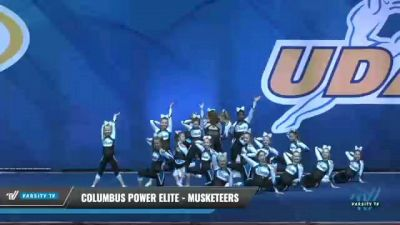 Columbus Power Elite - Musketeers [2020 L3 Junior - D2 Day 2] 2020 UCA Smoky Mountain Championship