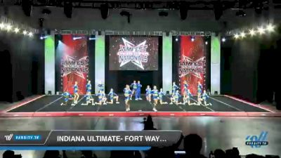 Indiana Ultimate- Fort Wayne - Green Envy [2021 L4 Junior - Small - B Day 1] 2021 JAMfest Cheer Super Nationals