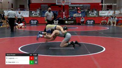 145 lbs Semifinal - Ryan Lepore, Spring-Ford vs Ryan Garvick, Central Dauphin