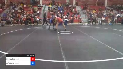 70 kg Prelims - Harold 'Brock' Mauller, Tiger Style Wrestling Club vs Jacori Teemer, Sunkist Kids Wrestling Club