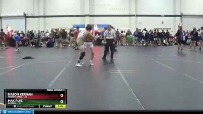 119 lbs Cons. Round 2 - Mason Kernan, Pennsylvania vs Max Ruiz, Georgia