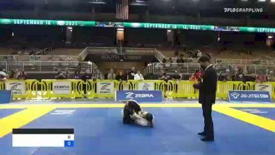 LEELA HADASSA ELLIOTT vs ALEXIA ALAYNA ARNOLD 2021 Pan Jiu-Jitsu IBJJF Championship