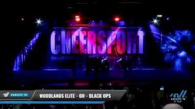 Woodlands Elite - OR - Black Ops [2021 L6 Senior Coed - Medium Day 2] 2021 CHEERSPORT National Cheerleading Championship