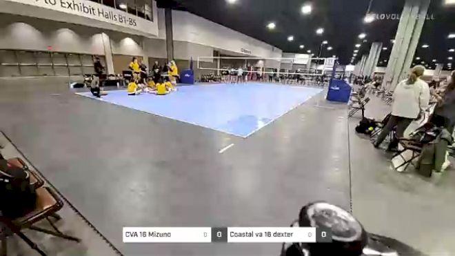 CVA 16 Mizuno vs Coastal va 16 dexter - 2021 Capitol Hill Volleyball Classic