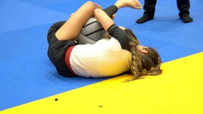 Mayssa Bastos Takes The Back Directly Into A Choke