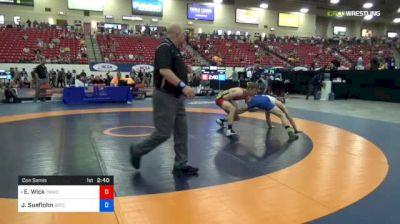 74 kg Con Semis - Evan Wick, TMWC/ University Of Wisconsin vs Jake Sueflohn, Boilermaker RTC