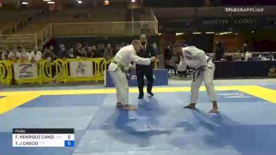 FLAVIO HENRIQUE CANDIDO LARA vs TIMOTHY J CASCIO 2020 World Master IBJJF Jiu-Jitsu Championship