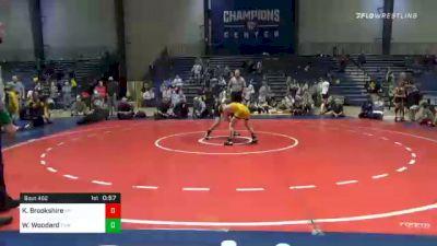 91 lbs Final - Keigan Brookshire, Morris Fitness vs Walker Woodard, Troup Youth Wrestling