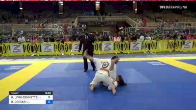 HALEY LYNN GENNETTE vs HELENA CREVAR 2021 Pan Kids Jiu-Jitsu IBJJF Championship