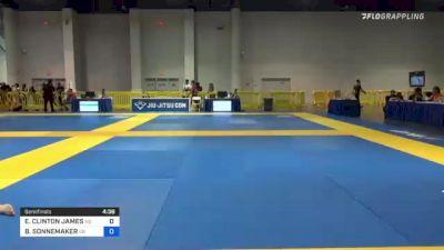 ERNESTO CLINTON JAMES vs BILL SONNEMAKER 2021 American National IBJJF Jiu-Jitsu Championship