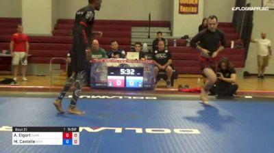 Ari Elgort vs Marvin Castelle 1st ADCC North American Trials