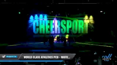 World Class Athletics PCB - White Diamonds [2021 L5 Senior Coed - D2 - Small Day 1] 2021 CHEERSPORT National Cheerleading Championship