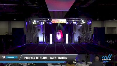 Phoenix Allstars - Lady Legends [2021 L4 Senior - D2 - Small Day 1] 2021 Queen of the Nile: Richmond